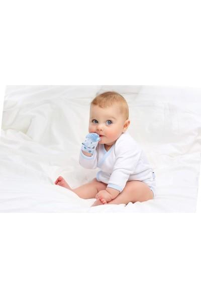 Baby Jem 612 Diş Kaşıyıcı Eldiven Kirpi - Mavi