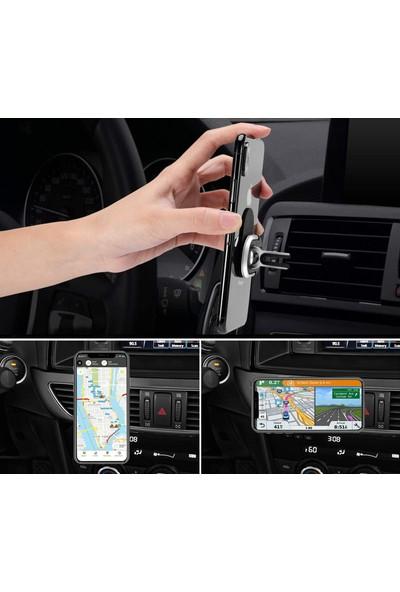 Case 4U Araç Telefon Tutucu Yüzük Stand Döner Ring Car Holder