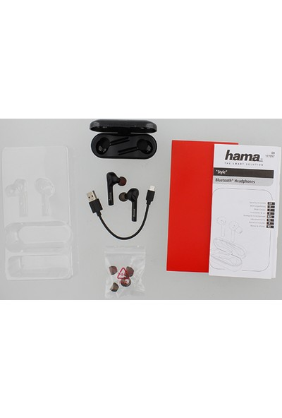 Hama 177057 Style TWS Bluetooth Kulaklık - Siyah