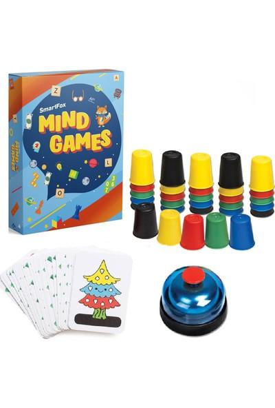 SmartFox Mind Games Bardak Oyunu - Süper Pratik Bardaklar
