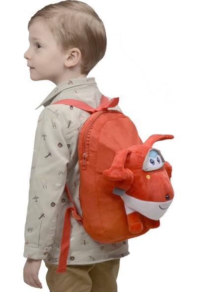 Selay Toys Harika Kanatlar Peluş Çanta - Kırmızı
