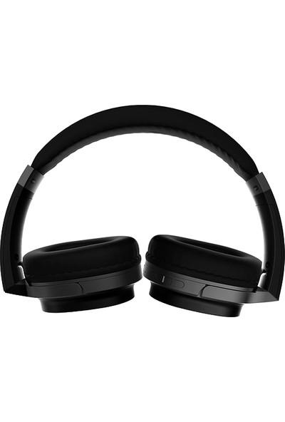 Bludfire Lelisu TF Kart Özellikli Bluetooth Kulaküstü Kulaklık Siyah