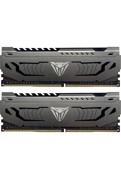 Patriot Viper Steel Ddr4 16GB(2*8GB) 4000MHZ 1.35V Cl-19 Kit Gaming Pc Ram - PVS416G400C9K