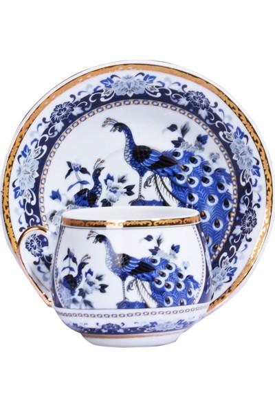 Kitchen World Gsa-54 Porselen 6'lı Tombul Fincan Takımı