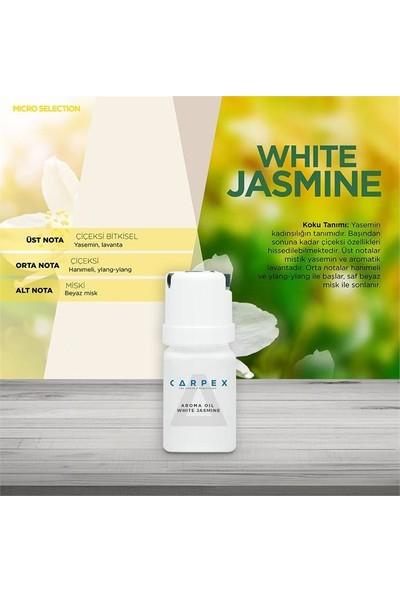 Carpex Micro Koku Makinesi Beyaz + Kartuş Koku Noble Garden 50 ml