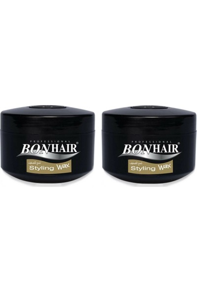 Bonhair Styling Wax 140 ml 2'li