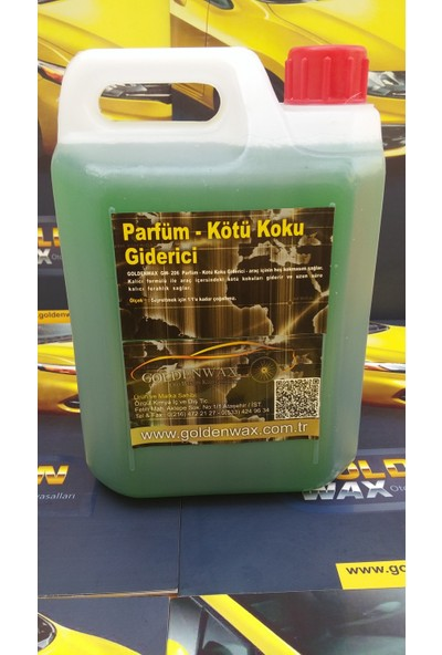 Goldenwax Tropikal Egzotik Oto Kokusu ve Oda Parfümü Exotic Ortam Kokusu 3 kg