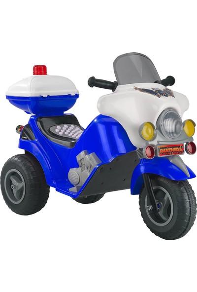 Baby2go 3 Teker 6V Akülü Motor Mavi