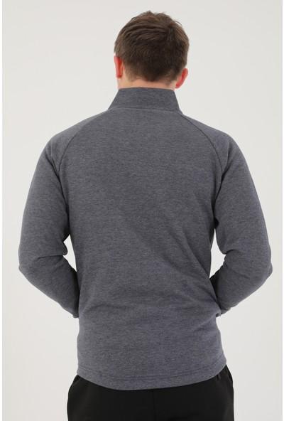 Airlife Erkek Tam Boy Fermuarlı Sweatshirt