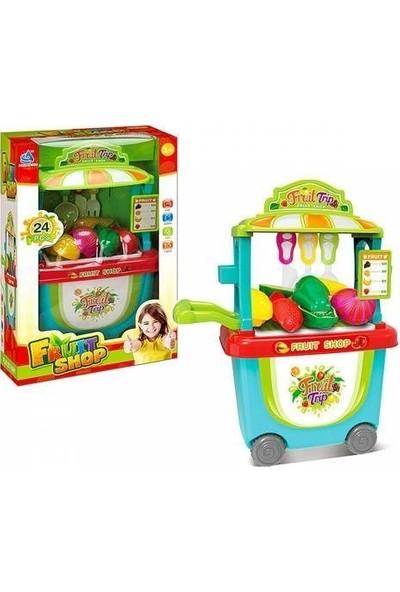 Birlik Oyuncak Manav Market Dükkanım Arabalı 24 Parça