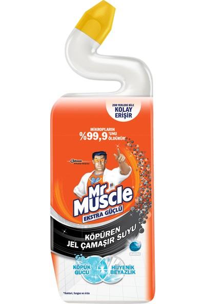 Mr. Muscle Tuvalet Temizleyici Köpüren Jel Çamaşır Suyu Katkılı Marine 750 ml