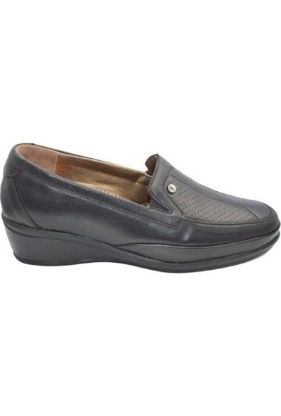 Biolife 89125 Deri Anatomik Ayakkabı Kadın Siyah 40