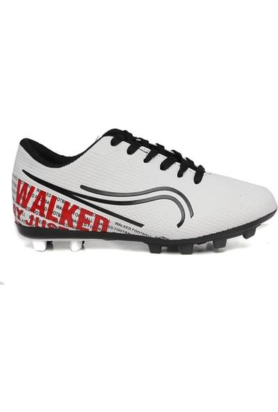 Walked Beyaz Krampon Erkek Çocuk Futbol Ayakkabısı S705