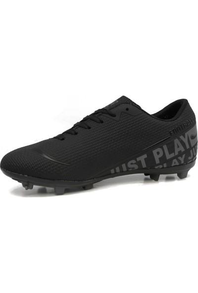 Walked Siyah Krampon Erkek Çocuk Futbol Ayakkabısı S705