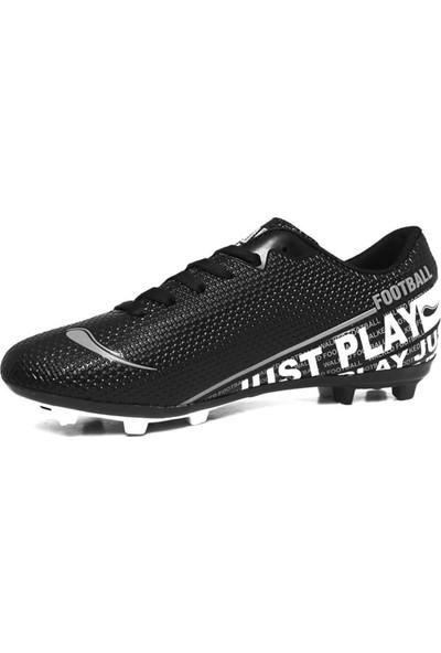 Walked Siyah Krampon Erkek Çocuk Futbol Ayakkabısı B705