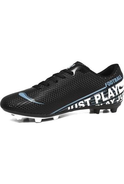 Walked Siyah Krampon Erkek Çocuk Futbol Ayakkabısı M705