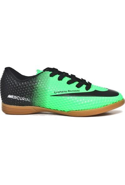Walked Yeşil Futsal Hentbol Voleybol Salon Ayakkabısı Y709