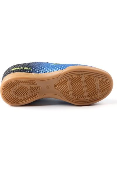 Walked Mavi Futsal Hentbol Voleybol Salon Ayakkabısı