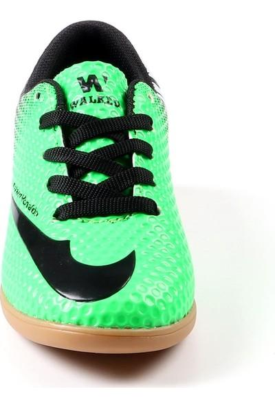 Walked Yeşil Futsal Hentbol Voleybol Salon Ayakkabısı