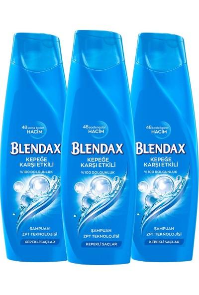 Blendax 360ml Kepeğe Karşı Etkili Şampuan x 3 Adet