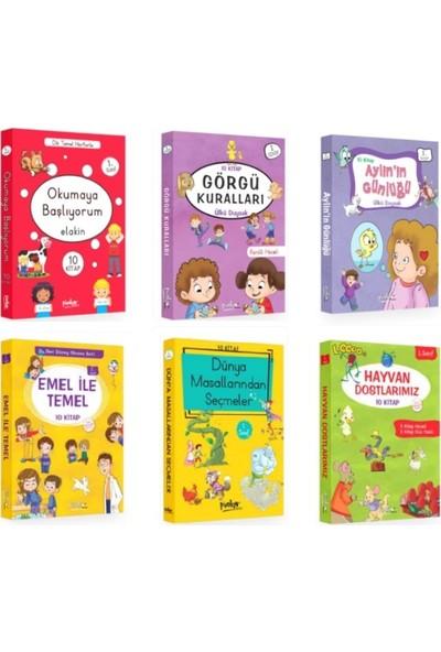 Pinokyo 1. Sınıf Hikaye Seti 6 Kutu - 60 Kitap