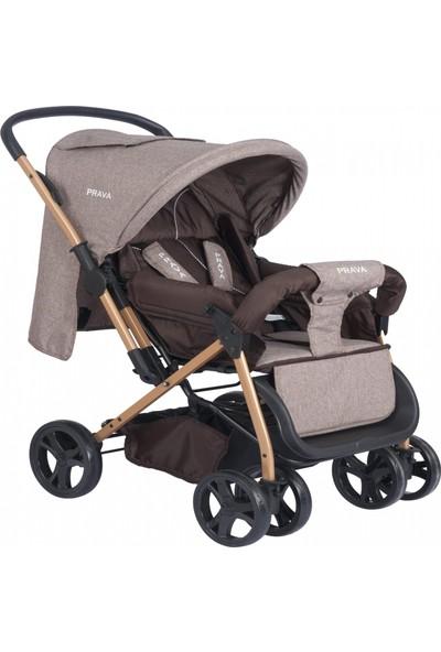 Prava P06 Comfort Bebek Arabası 2020 - Kahverengi