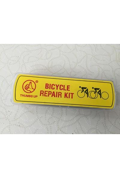 THUMPS UP Bisiklet Lastik Tamir Yama Seti Levyeli