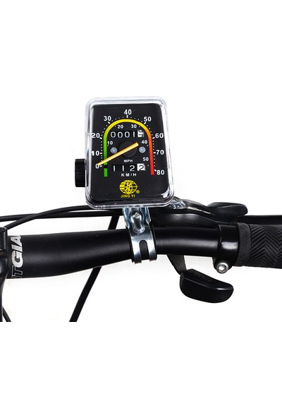 Peak Bisiklet Analog Ibreli Kilometre Mekanik Ibre Km Hız Göstergesi