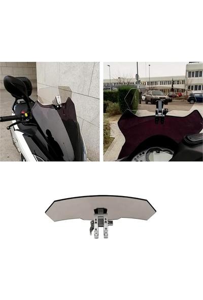 Knmaster Motosiklet Ön Cam Uzatma / Deflektör Model A