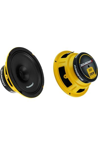 Soundmax Sx-Eg6 16 cm Midrange Max Power 290W 2'li Takım