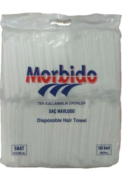 Morbido Kullan At Saç Havlusu 100 Adet - Tek Tek Poşetli