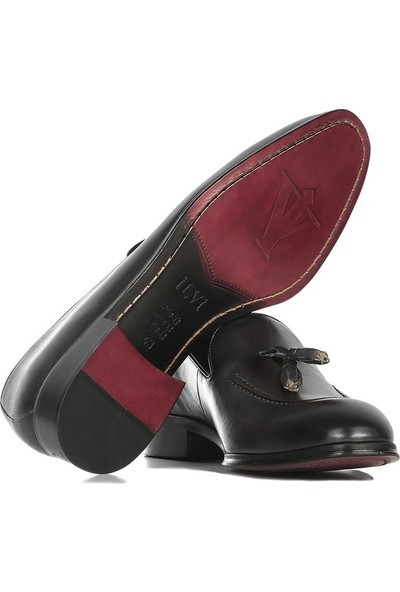 İlvi Clinton Erkek Makosen Ayakkabı Gri Krast