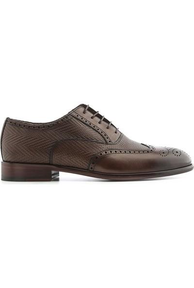 İlvi Paulin Erkek Klasik Ayakkabı Kahve Alkollü
