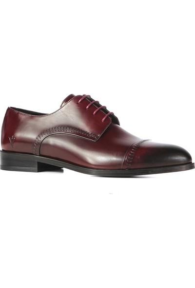 İlvi Ricardo Erkek Klasik Ayakkabı Bordo Voltaj