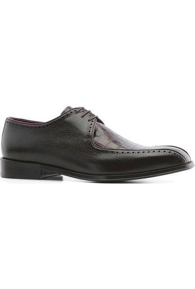 İlvi Rouge Erkek Klasik Ayakkabı Kahve Floter