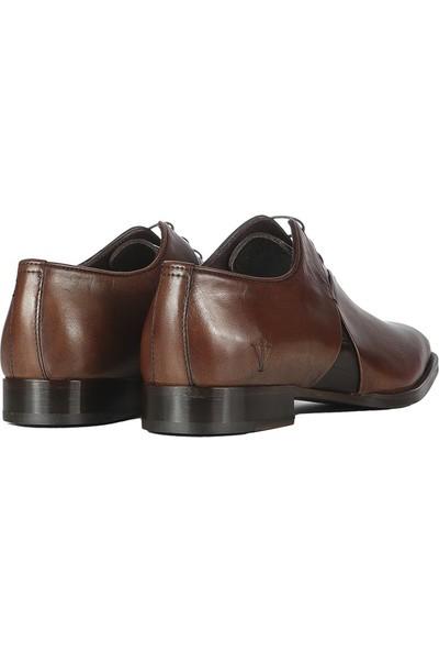 İlvi Shery Erkek Klasik Ayakkabı Kahve Alkollü