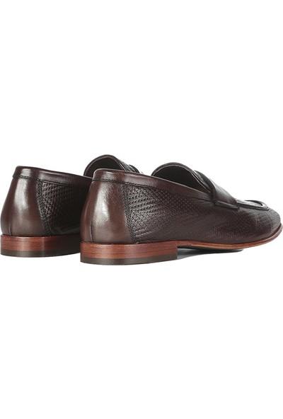 İlvi Talia Erkek Makosen Ayakkabı Kahve Alkollü