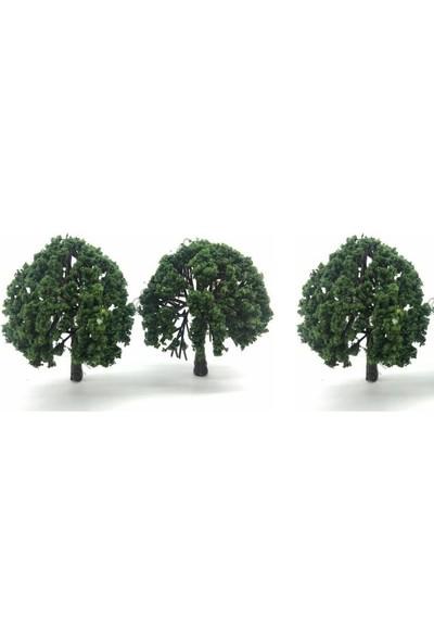 Jordania Maket Ağaç 7,5 cm 1/100 3'lü 075