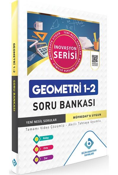 Bilim Anahtarı Yayınları Geometri 1 - 2 Soru Bankası