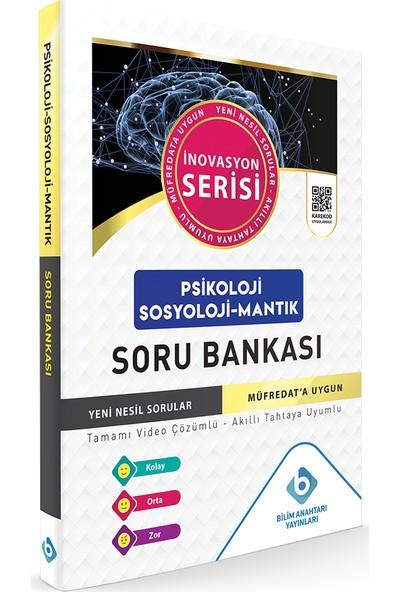 Bilim Anahtarı Yayınları Psikoloji - Sosyoloji - Mantık Soru Bankası