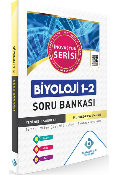 Bilim Anahtarı Yayınları Biyoloji 1 - 2 Soru Bankası