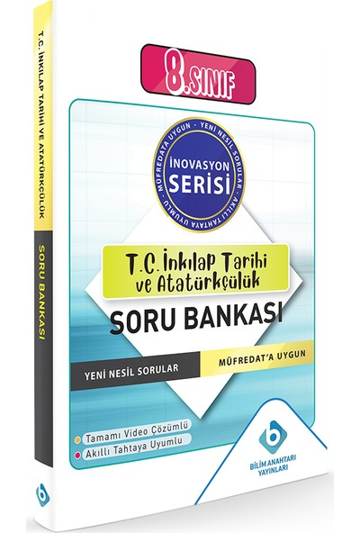 Bilim Anahtarı Yayınları Lgs T.c. Inkılap Tarihi ve Atatürkçülük Soru Bankası