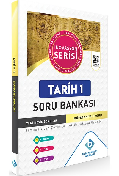 Bilim Anahtarı Yayınları Tarih 1 Soru Bankası