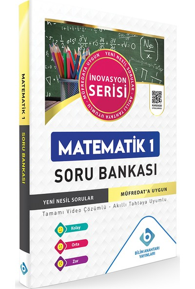 Bilim Anahtarı Yayınları Matematik - 1 Soru Bankası
