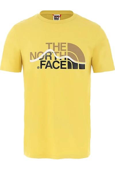 The North Face Mountain Line Erkek T-Shirt - T0A3G2ZBJ