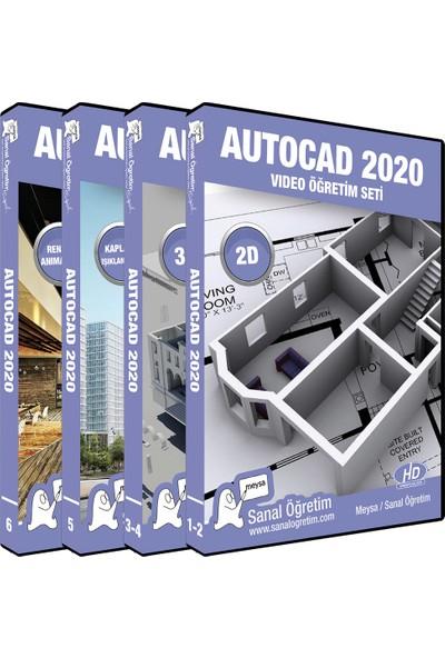 Sanal Öğretim Autocad 2020 Video Eğitim Seti