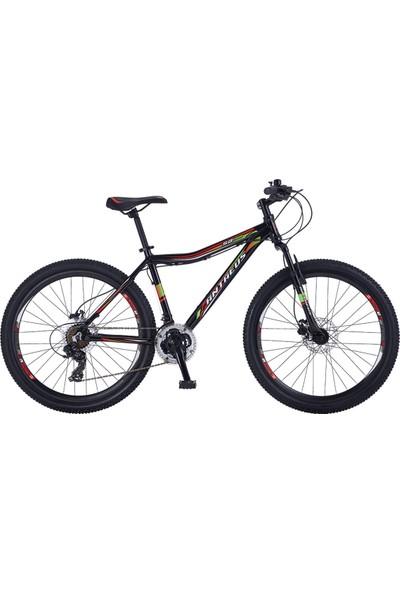 """Antaeus Dağ Bisikleti Sb100 26 Hd 18"""" Siyah - Kırmızı - Yeşil"""