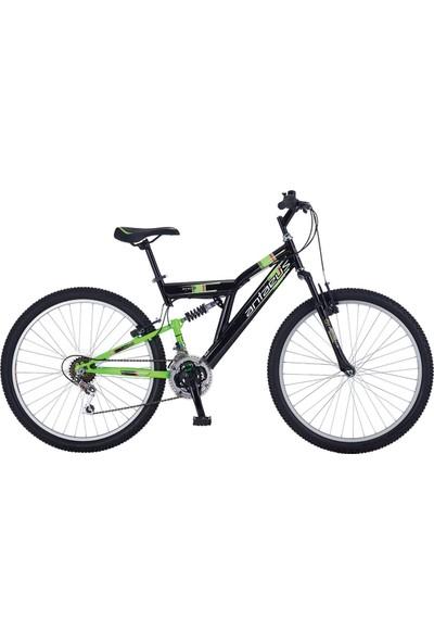 """Antaeus Dağ Bisikleti Snob 26 V 18"""" Siyah - Yeşil - Turuncu"""