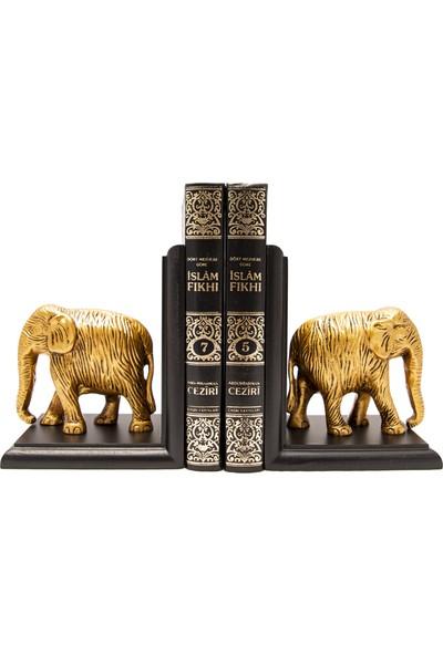 Gift Garden Fil Figürlü Biblo Kitap Tutucu
