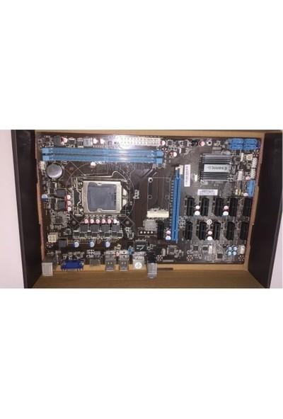 Esonic B250-BTC-GLADIATÖR-2XDDR4 VGA 1151P 12GPU Anakart
